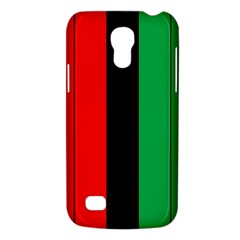 Kwanzaa Colors African American Red Black Green  Galaxy S4 Mini by yoursparklingshop