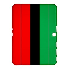 Kwanzaa Colors African American Red Black Green  Samsung Galaxy Tab 4 (10 1 ) Hardshell Case  by yoursparklingshop