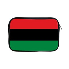 Pan African Unia Flag Colors Red Black Green Horizontal Stripes Apple Ipad Mini Zipper Cases by yoursparklingshop