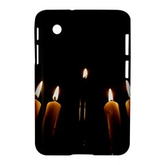 Hanukkah Chanukah Menorah Candles Candlelight Jewish Festival Of Lights Samsung Galaxy Tab 2 (7 ) P3100 Hardshell Case  by yoursparklingshop