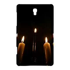 Hanukkah Chanukah Menorah Candles Candlelight Jewish Festival Of Lights Samsung Galaxy Tab S (8 4 ) Hardshell Case  by yoursparklingshop