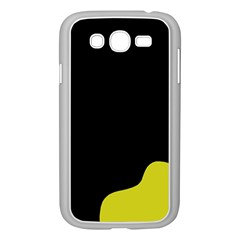Black And Yellow Samsung Galaxy Grand Duos I9082 Case (white) by Valentinaart