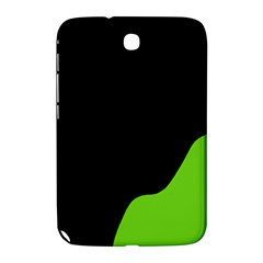 Black And Green Samsung Galaxy Note 8 0 N5100 Hardshell Case  by Valentinaart