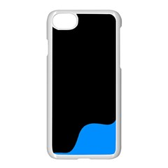 Blue And Black Apple Iphone 7 Seamless Case (white)