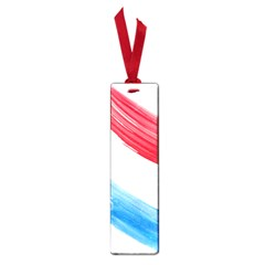 Tricolor Banner Flag, Red White Blue Small Book Marks by picsaspassion