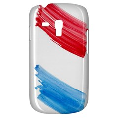 Tricolor Banner Flag, Red White Blue Galaxy S3 Mini by picsaspassion