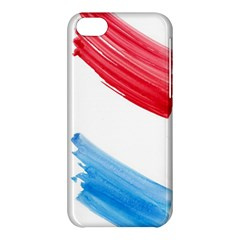 Tricolor Banner Flag, Red White Blue Apple Iphone 5c Hardshell Case by picsaspassion