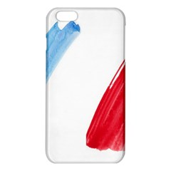 Tricolor Banner Flag France, Blue White Red Watercolor Iphone 6 Plus/6s Plus Tpu Case by picsaspassion