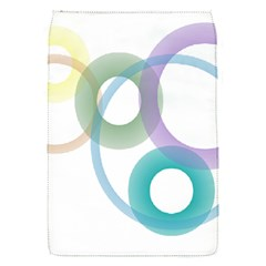 Rainbow Colors Circles Flap Covers (s)  by picsaspassion