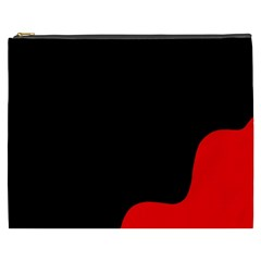 Black And Red Cosmetic Bag (xxxl)