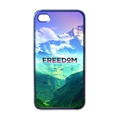 Freedom Apple Iphone 4 Case (black) by Brittlevirginclothing