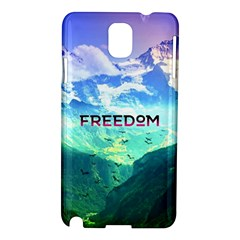 Freedom Samsung Galaxy Note 3 N9005 Hardshell Case by Brittlevirginclothing