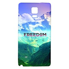 Freedom Galaxy Note 4 Back Case