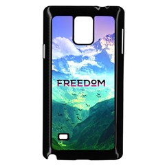 Freedom Samsung Galaxy Note 4 Case (black) by Brittlevirginclothing