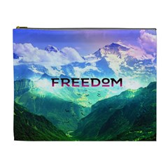 Freedom Cosmetic Bag (xl) by Brittlevirginclothing