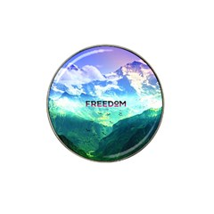 Freedom Hat Clip Ball Marker (4 Pack)