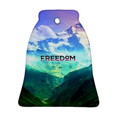 Freedom Bell Ornament (2 Sides) by Brittlevirginclothing