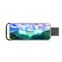 Freedom Portable Usb Flash (two Sides) by Brittlevirginclothing