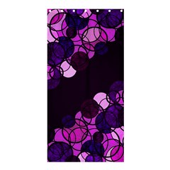 Purple Bubbles Shower Curtain 36  X 72  (stall)  by Valentinaart