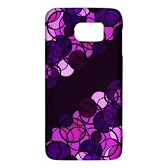 Purple Bubbles Galaxy S6 by Valentinaart