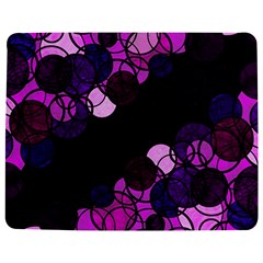 Purple Bubbles Jigsaw Puzzle Photo Stand (rectangular) by Valentinaart