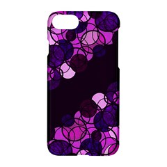 Purple Bubbles Apple Iphone 7 Hardshell Case