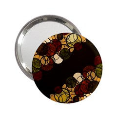 Autumn Bubbles 2 25  Handbag Mirrors