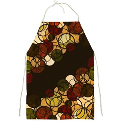 Autumn Bubbles Full Print Aprons by Valentinaart