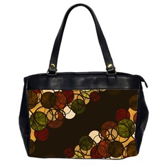Autumn Bubbles Office Handbags (2 Sides)  by Valentinaart
