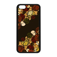 Autumn Bubbles Apple Iphone 5c Seamless Case (black) by Valentinaart