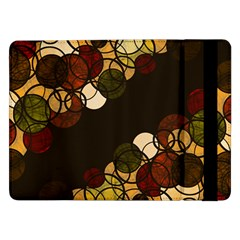 Autumn Bubbles Samsung Galaxy Tab Pro 12 2  Flip Case by Valentinaart