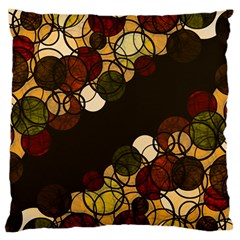 Autumn Bubbles Standard Flano Cushion Case (one Side) by Valentinaart