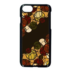 Autumn Bubbles Apple Iphone 7 Seamless Case (black) by Valentinaart