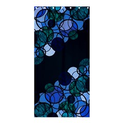 Blue Bubbles Shower Curtain 36  X 72  (stall)  by Valentinaart
