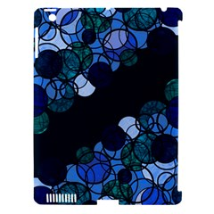 Blue Bubbles Apple Ipad 3/4 Hardshell Case (compatible With Smart Cover) by Valentinaart