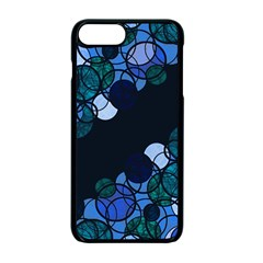 Blue Bubbles Apple Iphone 7 Plus Seamless Case (black) by Valentinaart