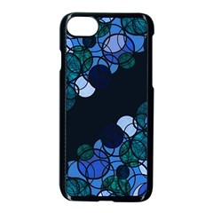 Blue Bubbles Apple Iphone 7 Seamless Case (black) by Valentinaart