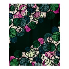Green And Pink Bubbles Shower Curtain 60  X 72  (medium)