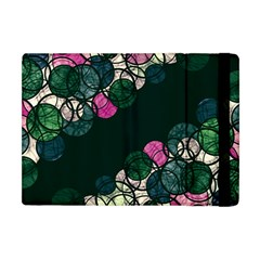 Green And Pink Bubbles Apple Ipad Mini Flip Case
