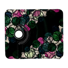 Green And Pink Bubbles Galaxy S3 (flip/folio) by Valentinaart