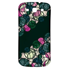 Green And Pink Bubbles Samsung Galaxy S3 S Iii Classic Hardshell Back Case by Valentinaart