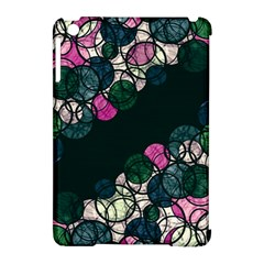 Green And Pink Bubbles Apple Ipad Mini Hardshell Case (compatible With Smart Cover) by Valentinaart