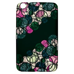 Green And Pink Bubbles Samsung Galaxy Tab 3 (8 ) T3100 Hardshell Case  by Valentinaart