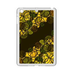 Yellow Bubbles Ipad Mini 2 Enamel Coated Cases by Valentinaart