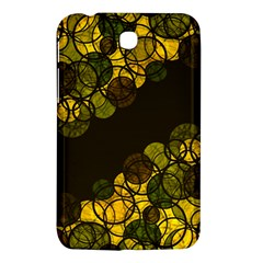 Yellow Bubbles Samsung Galaxy Tab 3 (7 ) P3200 Hardshell Case  by Valentinaart