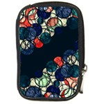 Orange and blue bubbles Compact Camera Cases Front
