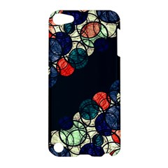 Orange And Blue Bubbles Apple Ipod Touch 5 Hardshell Case