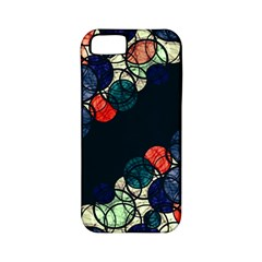 Orange And Blue Bubbles Apple Iphone 5 Classic Hardshell Case (pc+silicone) by Valentinaart