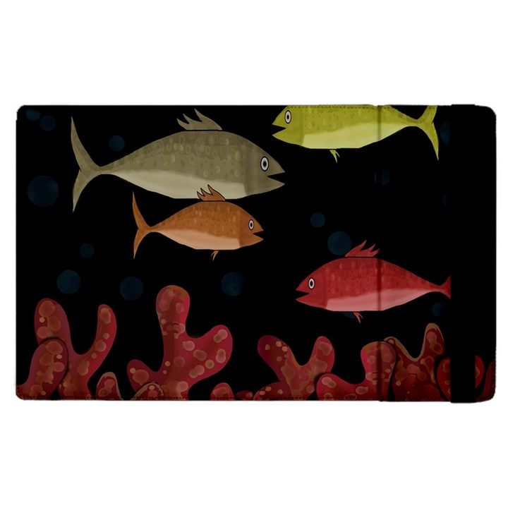 Corals Apple iPad 3/4 Flip Case