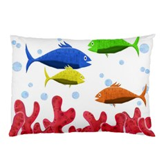 Corals And Fish Pillow Case